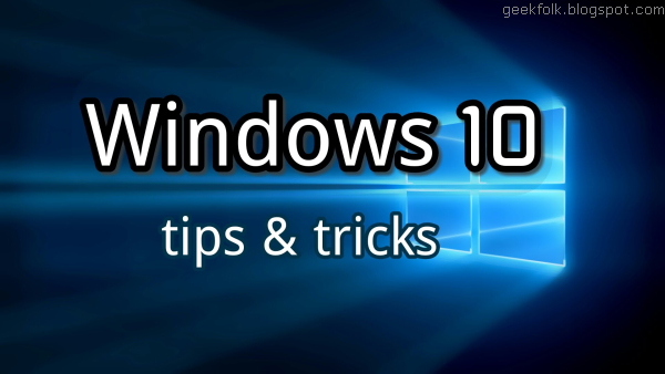 Windows Tips & Tricks