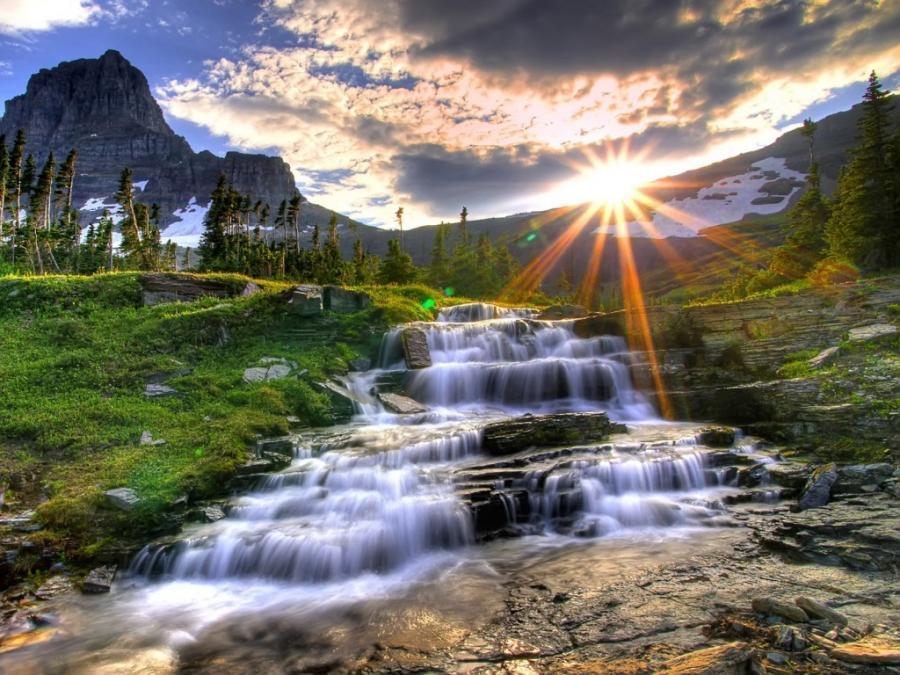 paisajes y flores - YouTube