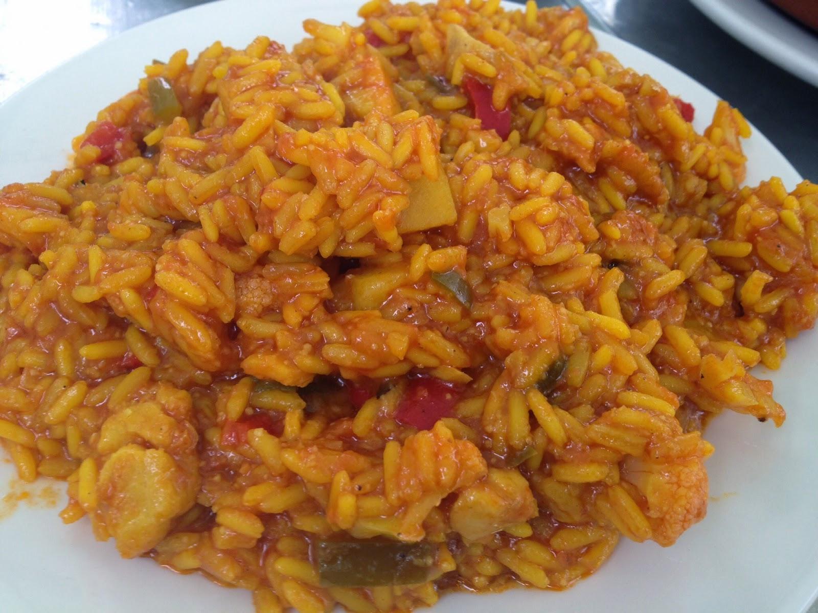 Recetas por puntos recetas por puntos de arroz con bacalao - Arroz con bacalao desmigado ...