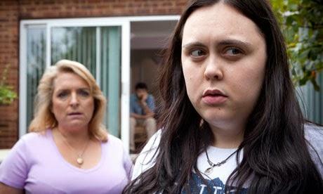 Rae y su disfuncional madre, protagonistas de My mad fat diary