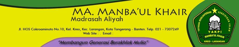 MA Manba'ul Khair