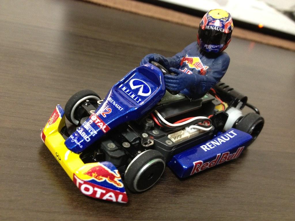 KYOSHOSAN: Red Bull Mini-Z F1 and dNaNo Kart