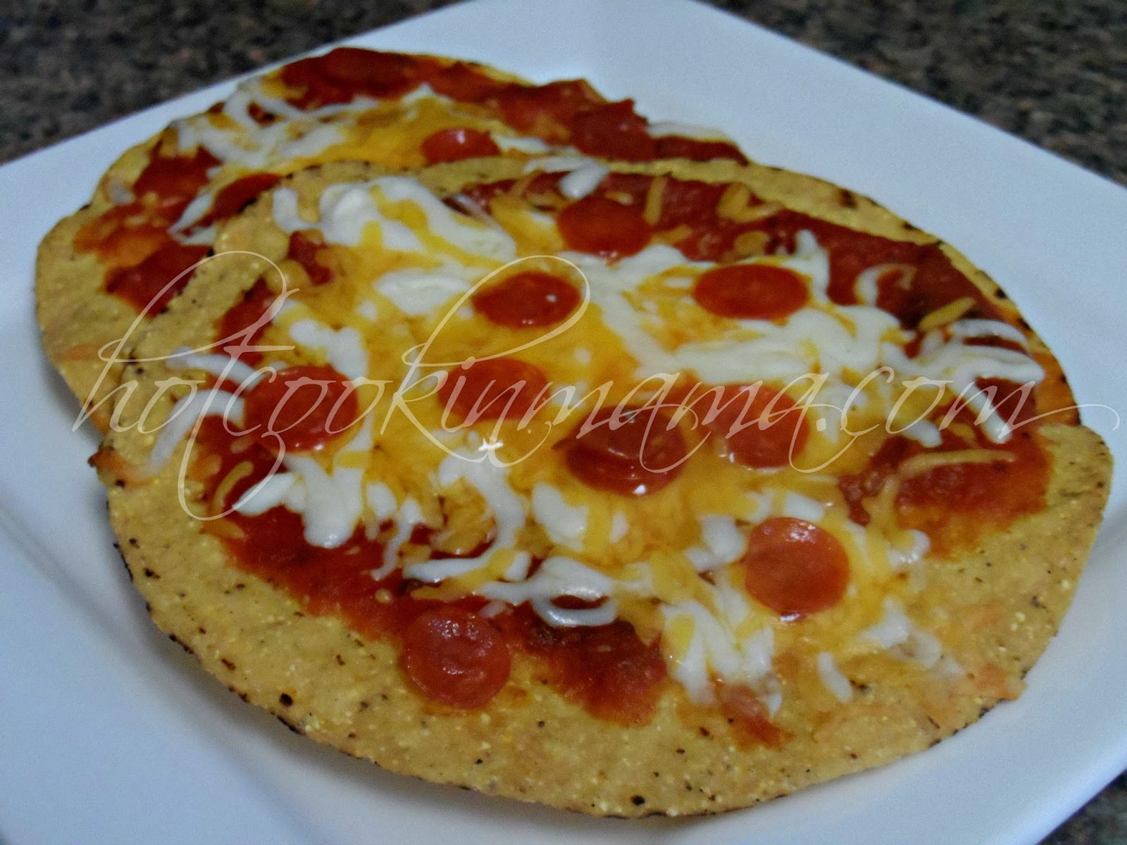 how to make tostada pizza