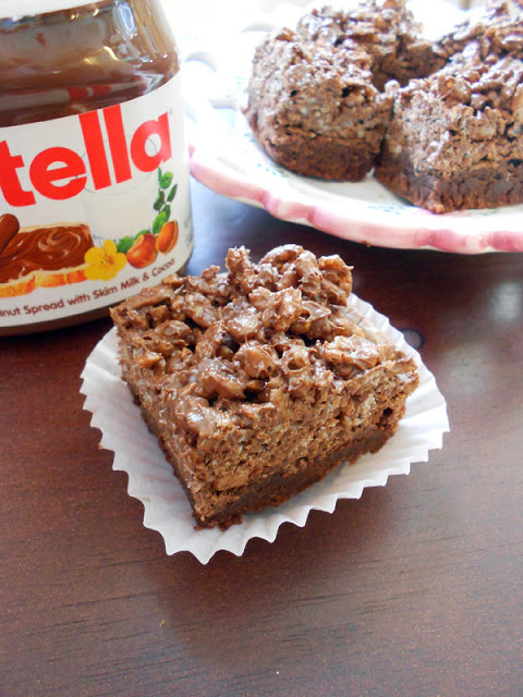 Confessions of a Confectionista: Nutella Crack Brownies