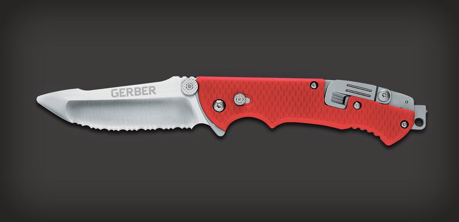 Couteau à offrir pour un pompier ou sauveteur