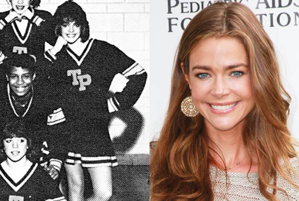 Denise Richards — Sure she's gorgeous, then and now. But you have to remember: this woman was married to Charlie Sheen. That's called a red flag.