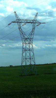 wieża wsporcza pod linie elektryczne