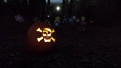 """one of the several """"Pumpkins in the Park"""" - in Franklin"""