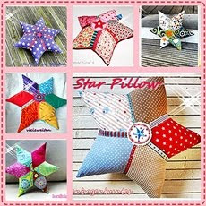 freebook STAR Pillow