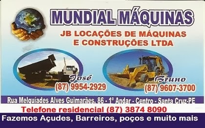MUNDIAL MÁQUINAS
