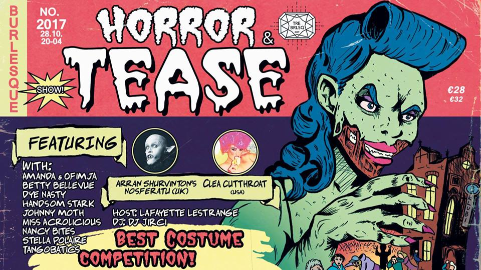 Horror and Tease 28.10.2017, Tampere