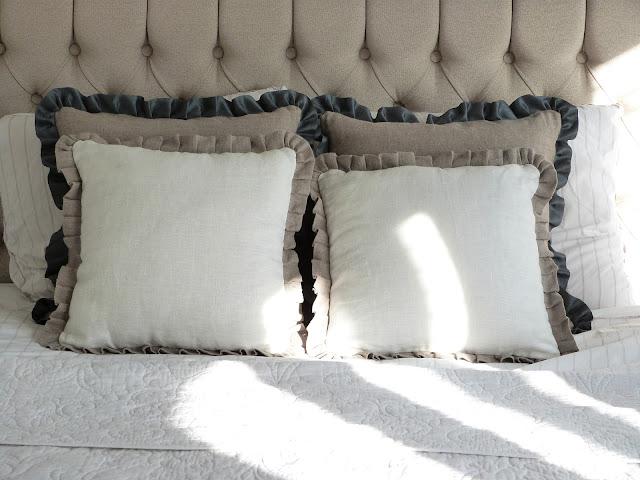 Slaapkamer Delen Met Zus : Het Brocante-Schelpenhuisje: Wit beddengoed ...