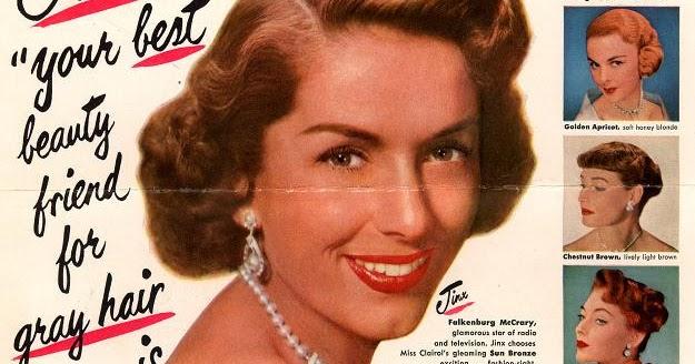 Advertising History Blog Miss Clairol Celeb Ad