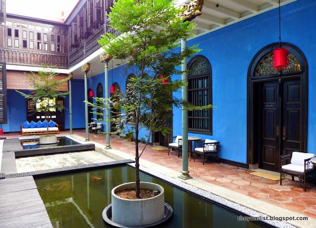 The Blue Mansion, Penang, unesco site, boutique hotel