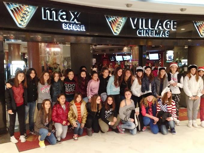 Στα Village Cinemas παγκορασίδες και μίνι κοριτσιών του ΠΑΟΚ-Φωτορεπορτάζ-Πρόγραμμα εκμάθησης για κορίτσια γεννηθέντα το 2002 έως και το 2008 από την PAOK WOMEN'S BASKETBALL ACADEMY