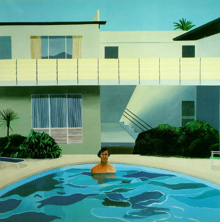 David hockney 1937 pop art painter tutt 39 art - David hockney swimming pool paintings ...