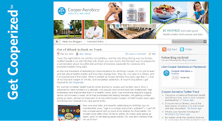 New Cooper Aerobics Blog