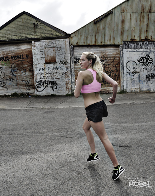 sports photography,nike,jogging,urban sports shoot,edgy location shoot by photographer gilbert rossi,