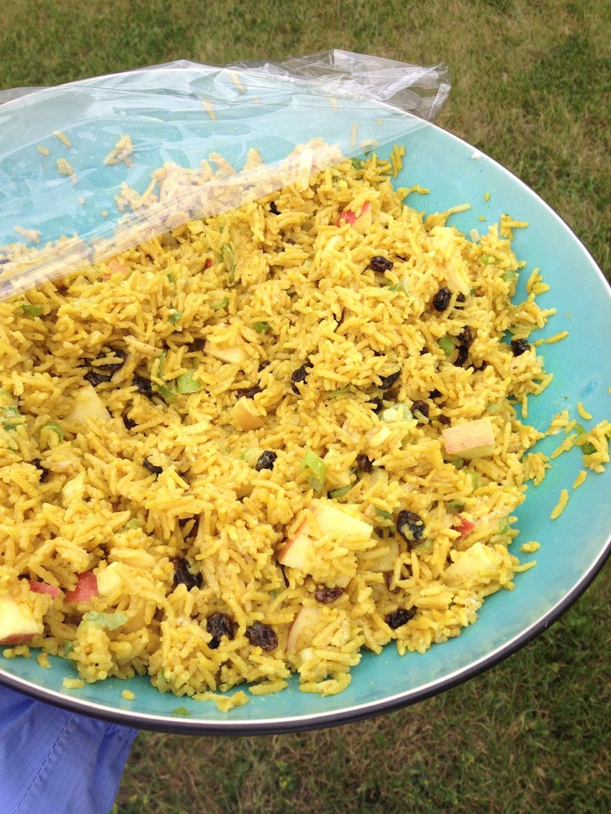 Miss Tweedle: Curried Rice Salad