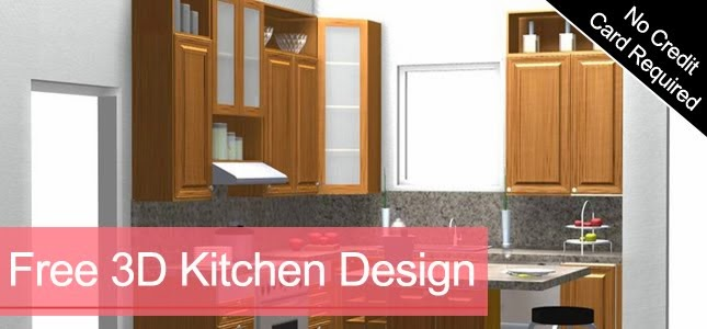 Kitcad Free 2d And 3d Kitchen Cabinet Computer Design