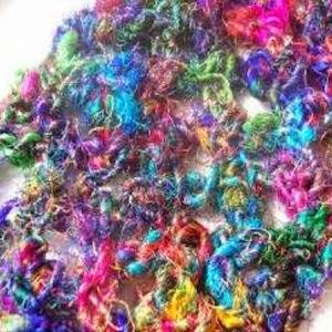 Gratis haakpatroon zijden sjaal