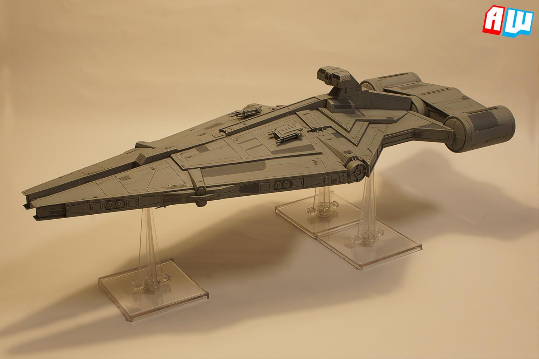 The Alternative Wargamer Commission Arquitens Class Light Cruiser