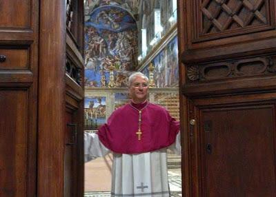 Cardinal Sistine Chapel conclave