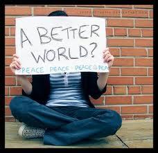 """""""Um mundo melhor?"""""""