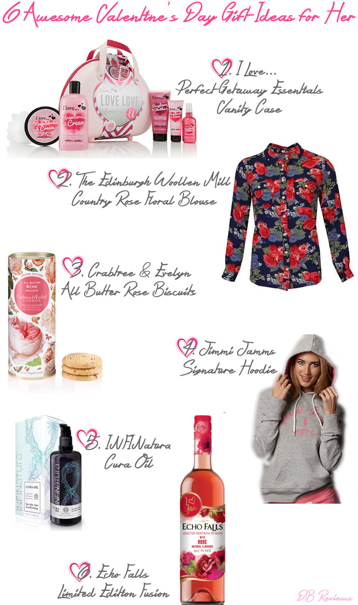 6 Awesome Valentines Day Gift Ideas for Her