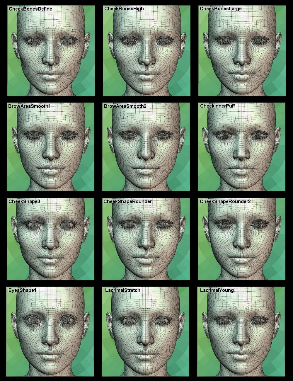 Genesis 2 Head Morph Resource Kit