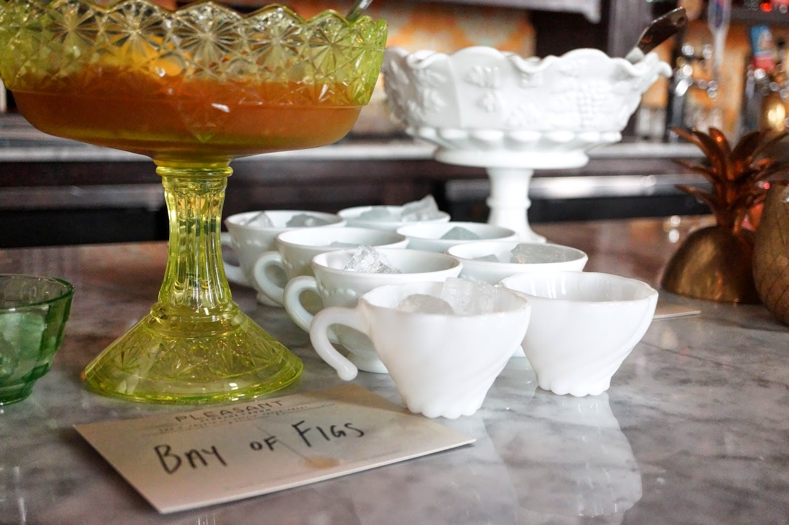 Bay of Figs punch service & Pleasant Storage Room Bringing Cuban Flair to Austin   Sushi in the ATX