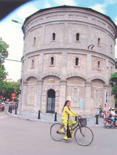 Hang Dau water tower- evidence of a former Hanoi