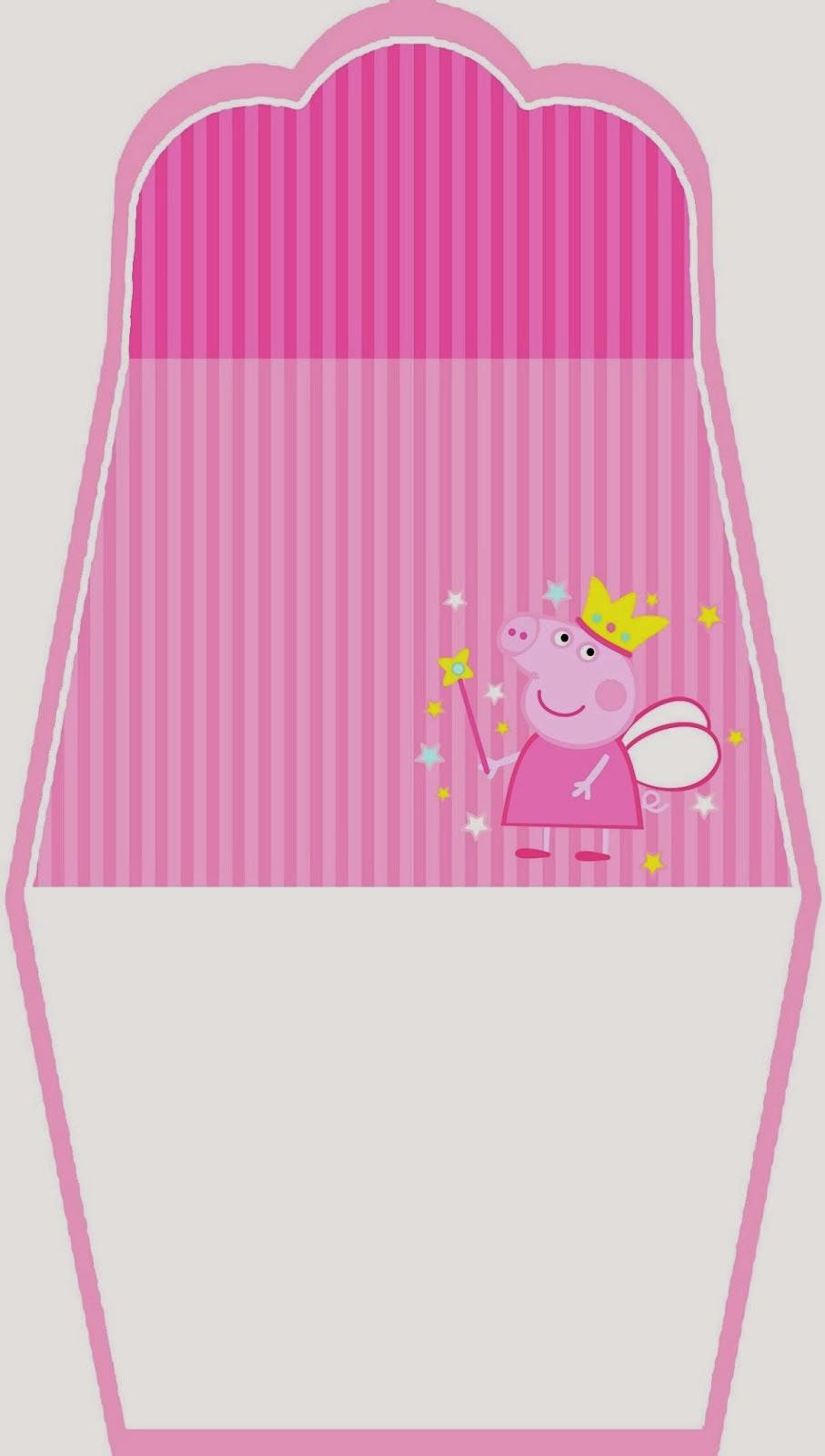 Peppa Pig Fairy Free Printable Purse Invitation. | Oh My ...