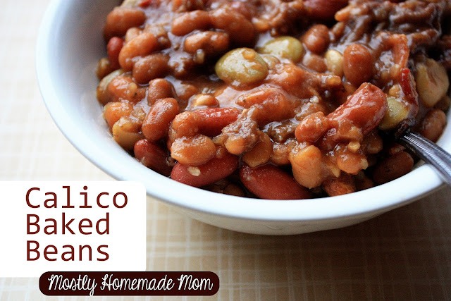 Calico Baked Beans | Mostly Homemade Mom