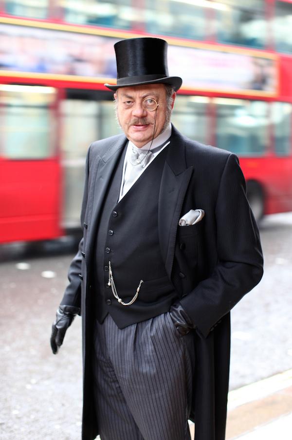 El londinense atrapado en la era victoriana