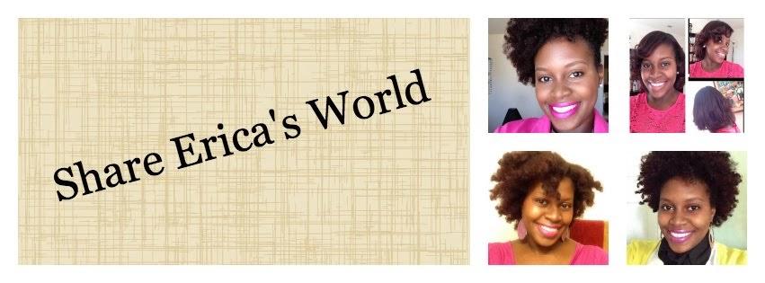Share Erica's World