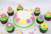 Our Easter Themed cupcakes & Spring Time Cake To Go easter