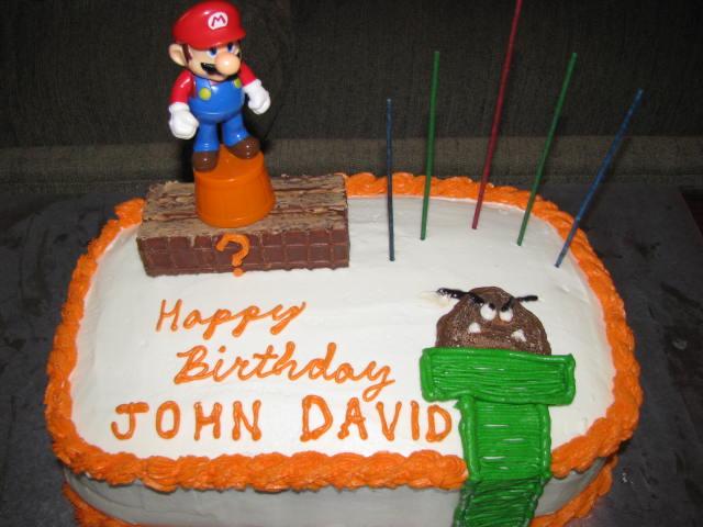 The Nutty Nichols Happy Birthday John David