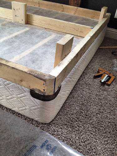 How To Take Apart A Glued Bed Frame