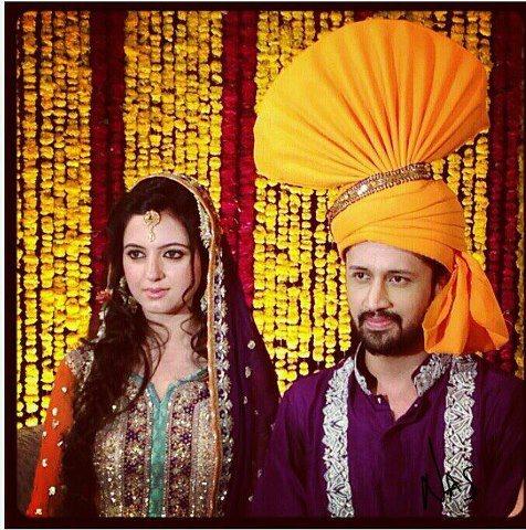 Atif Aslam ,atif aslam Wedding Images ,biography ,songs