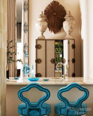 dixon brings a seasoned sensibility layering color pattern and decorative objects in each of his clients interiors - Barry Dixon Interiors