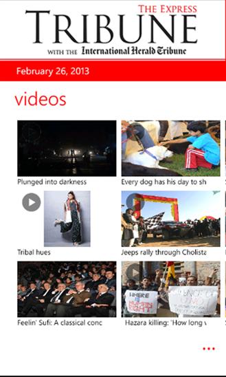 Tribune Lumia App