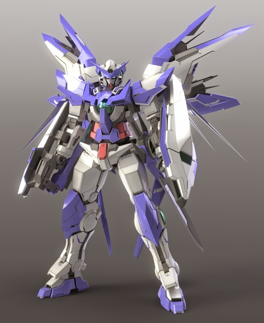 gundam guy gundam build fighters digital fan art