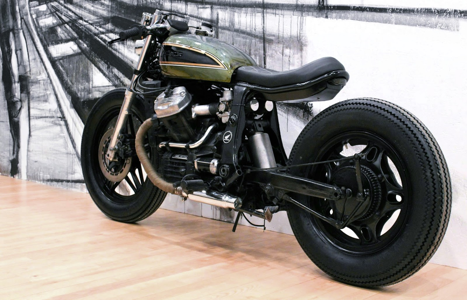Cx500 By Relic Motorcycles Inazuma Caf 233 Racer