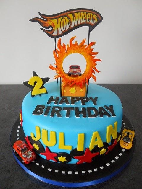 Hot Wheels Racing League Hot Wheels Birthday Party Cakes