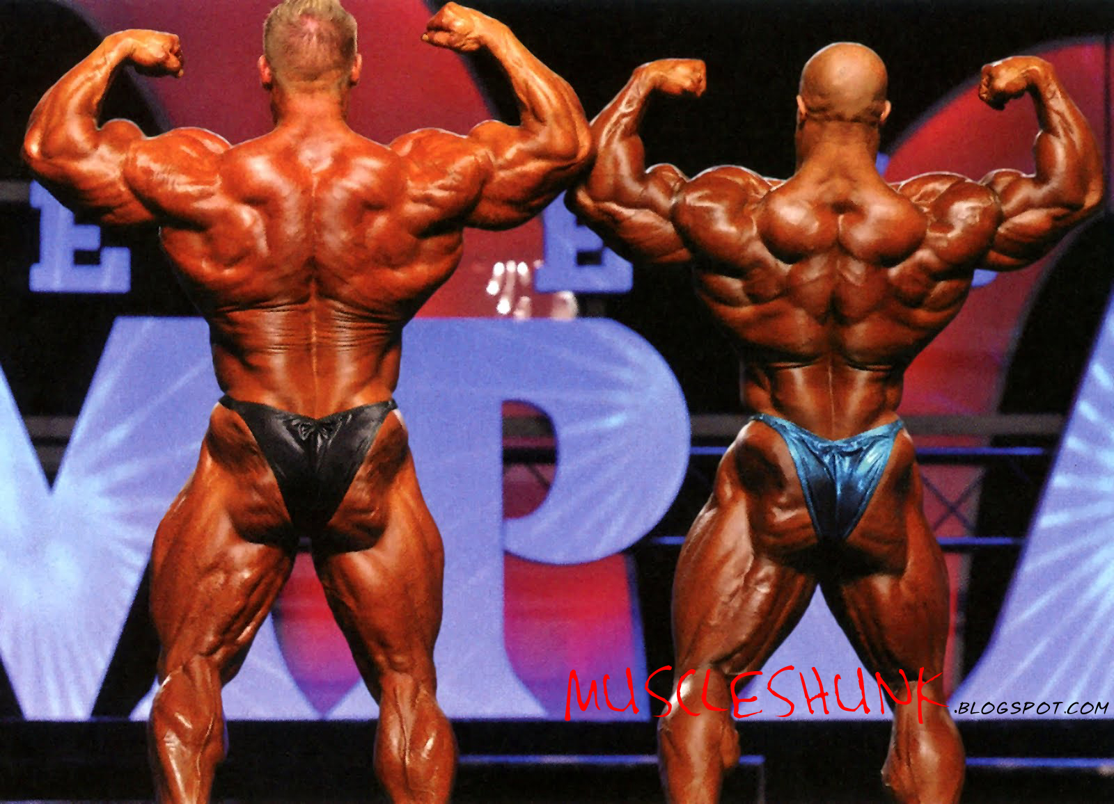 Jay Cutler and Phil heath Photos