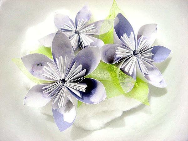 Kusudama flowers by Desi - Italian Scrapaholic Gal