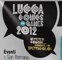 Logo Lucca Comics and Games 2012