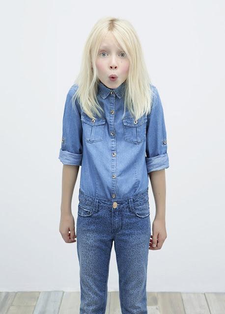 Total look denim #ZaraKids #ministyle #modaniña