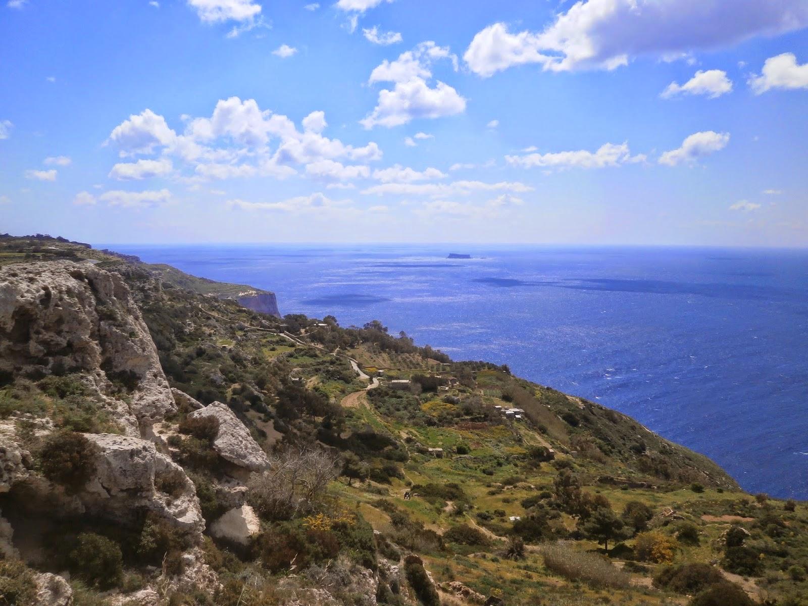 Klify Dungli, Malta
